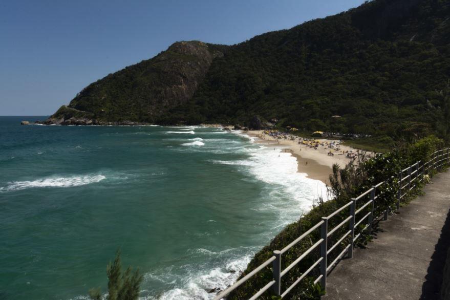 Пляж город Рио-де-Жанейро