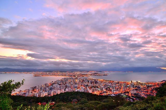 Вид на город Рио-де-Жанейро