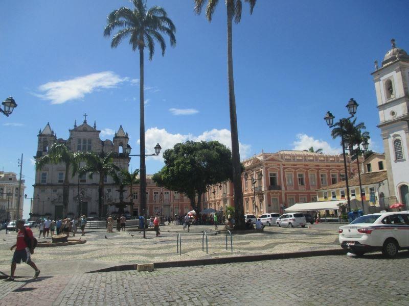 Улица город Салвадор