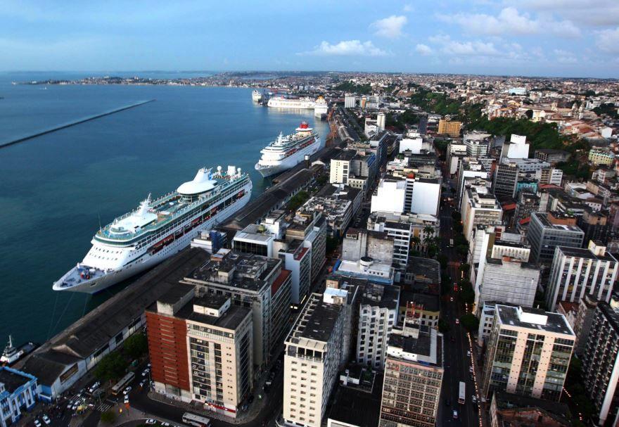 Панорама город Салвадор