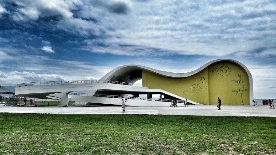 Нимейер Театр город Бразилиа