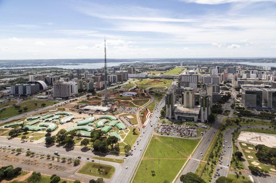 Вид на город Бразилиа