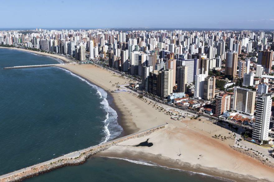 Вид на город Форталеза