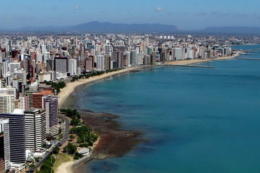 Смотреть красивое фото город Форталеза