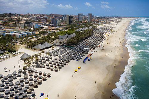Пляж город Форталеза