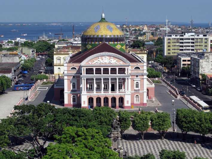 Смотреть красивое фото город Манаус