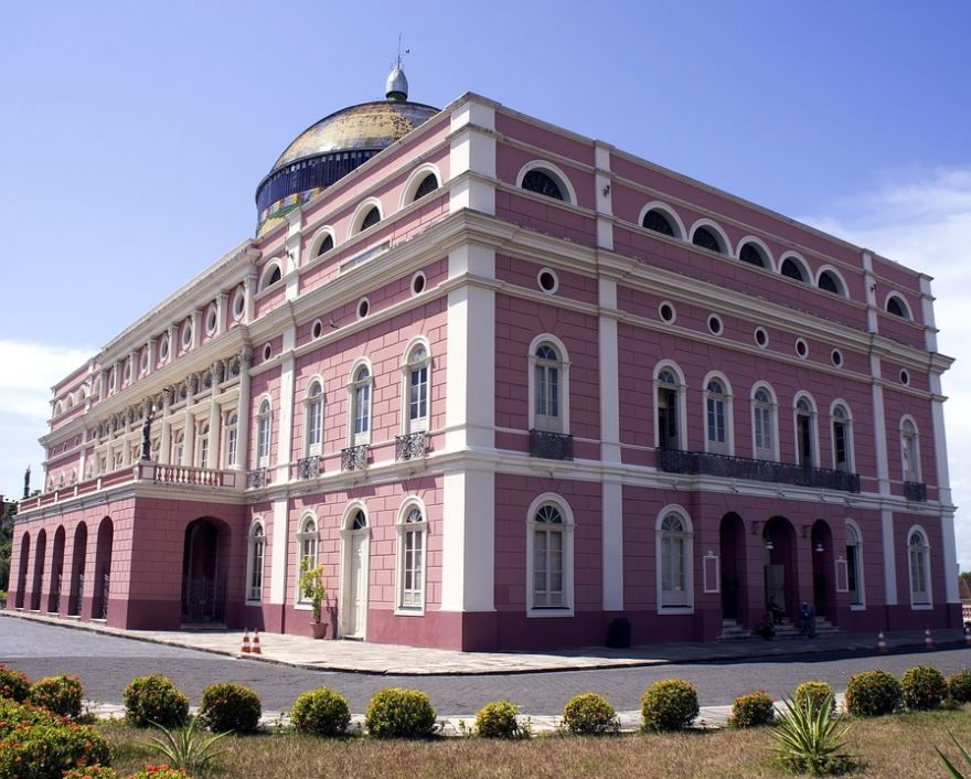 Театр город Манаус