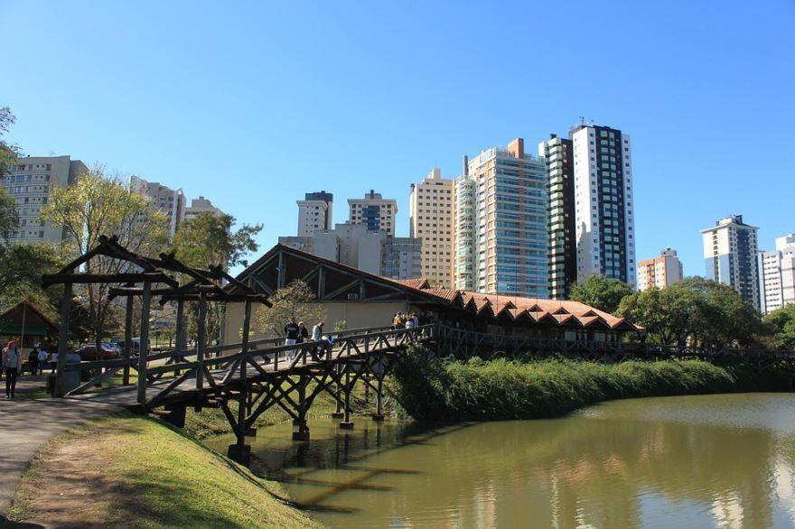 Фото города Куритиба Бразилия