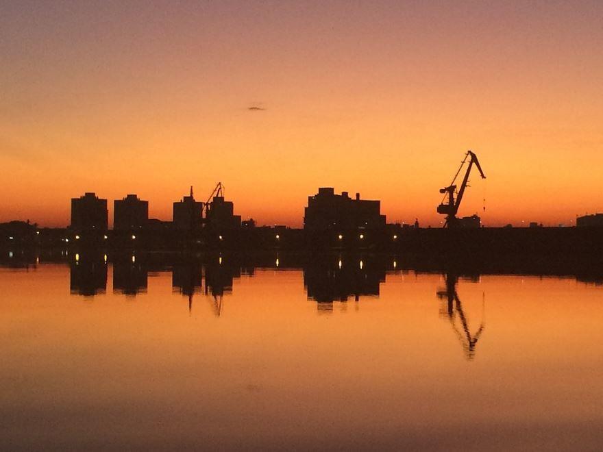 Панорама город Порту-Алегри 2019