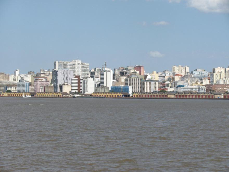 Фото города Порту-Алегри Бразилия