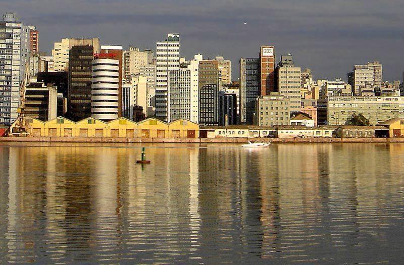 Смотреть красивое фото город Порту-Алегри