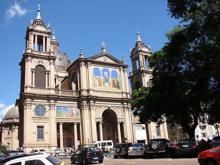 Собор города Порту-Алегри Бразилия