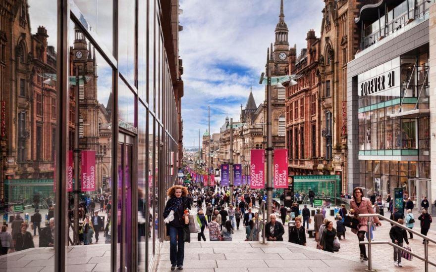 Смотреть красивое фото город Глазго