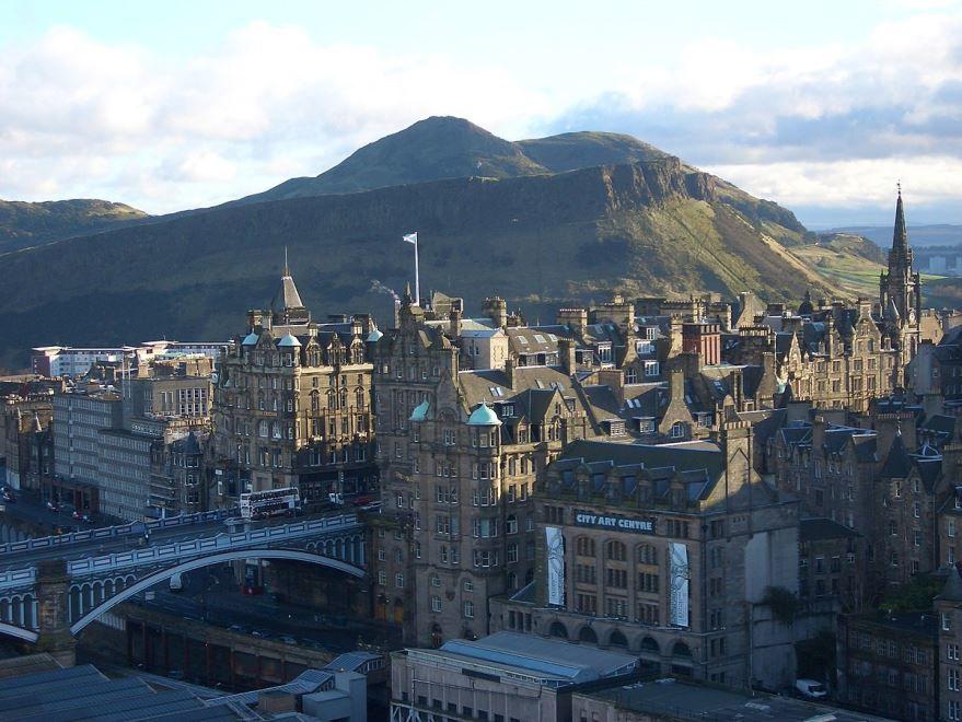 Фото города Эдинбург Великобритания