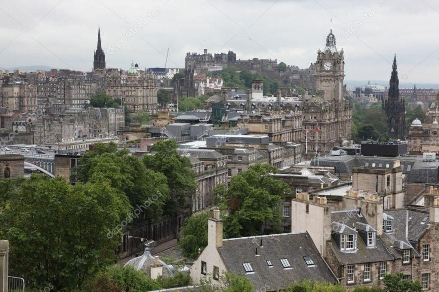 Смотреть красивое фото город Эдинбург