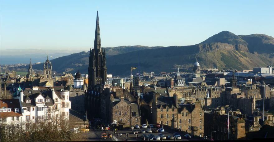 Скачать онлайн бесплатно лучшее фото город Эдинбург в хорошем качестве