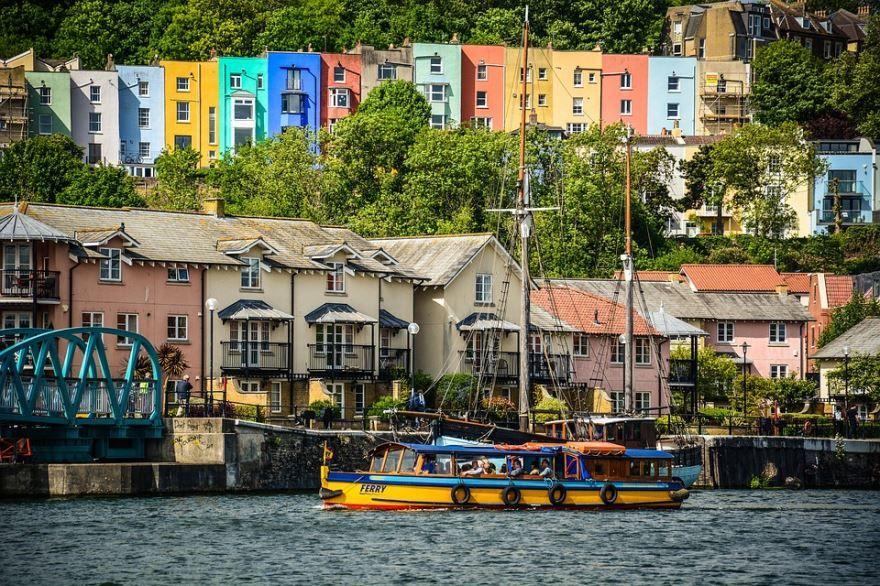 Фото города Бристоль Великобритания