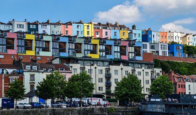 Скачать онлайн бесплатно лучшее фото город Бристоль в хорошем качестве