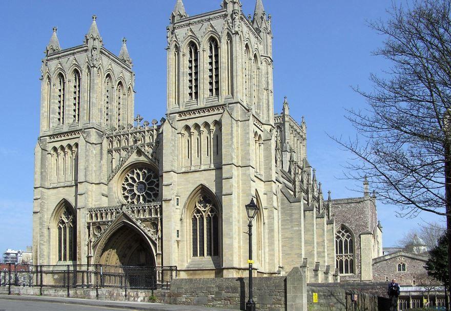 Собор города Бристоль Великобритания
