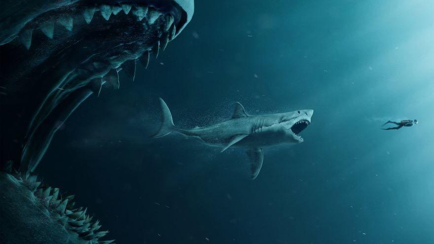 Скачать бесплатно постеры к фильму Мег: Монстр глубины в качестве 720 и 1080 hd