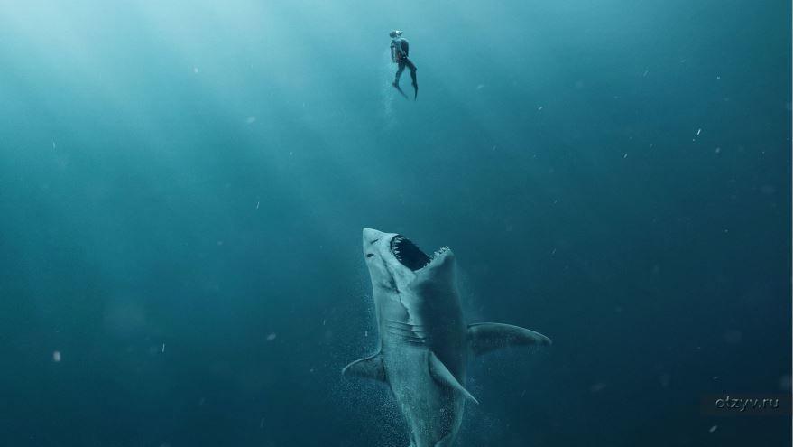 Бесплатные кадры к фильму Мег: Монстр глубины в качестве 1080 hd