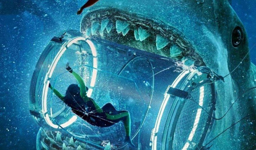 Смотреть бесплатно постеры и кадры к фильму Мег: Монстр глубины онлайн