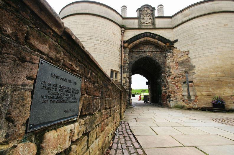 Вид замка Ноттингем