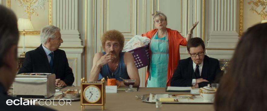 Смотреть бесплатно постеры и кадры к фильму День выборов по-французски онлайн