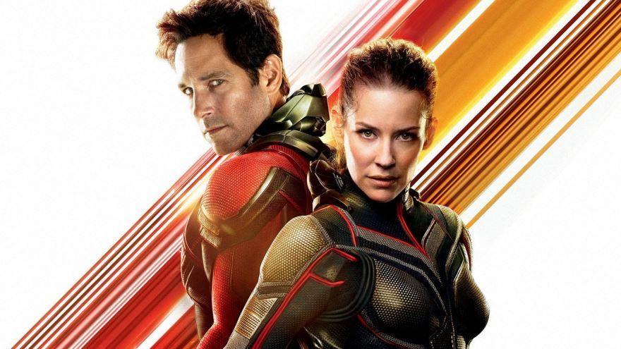 Скачать бесплатно постеры к фильму Человек-муравей и Оса в качестве 720 и 1080 hd
