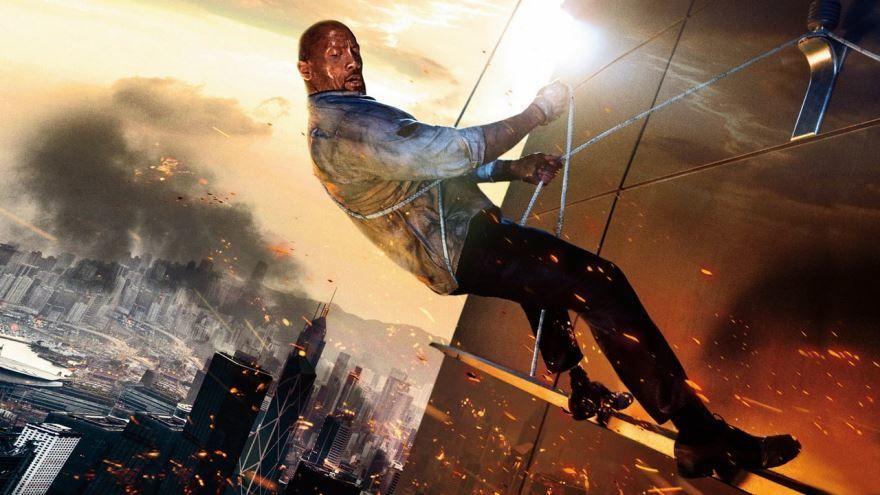 Скачать бесплатно постеры к фильму Небоскреб в качестве 720 и 1080 hd