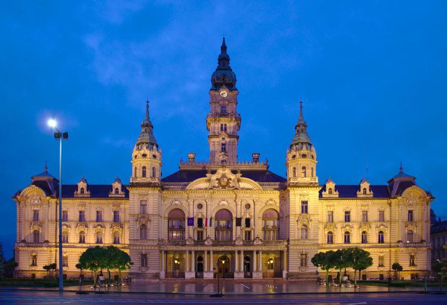 Фото города Дьер Венгрия
