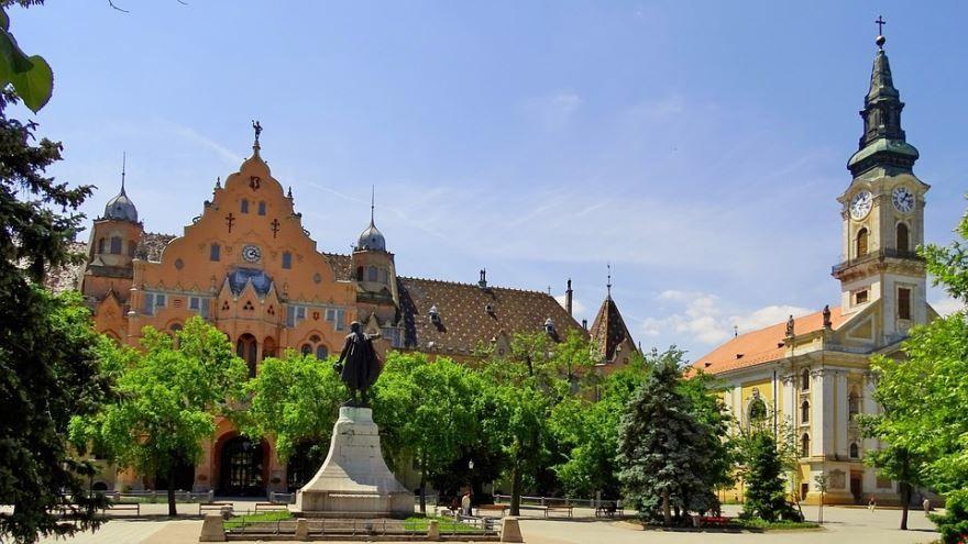 Фото города Кечкемет Венгрия