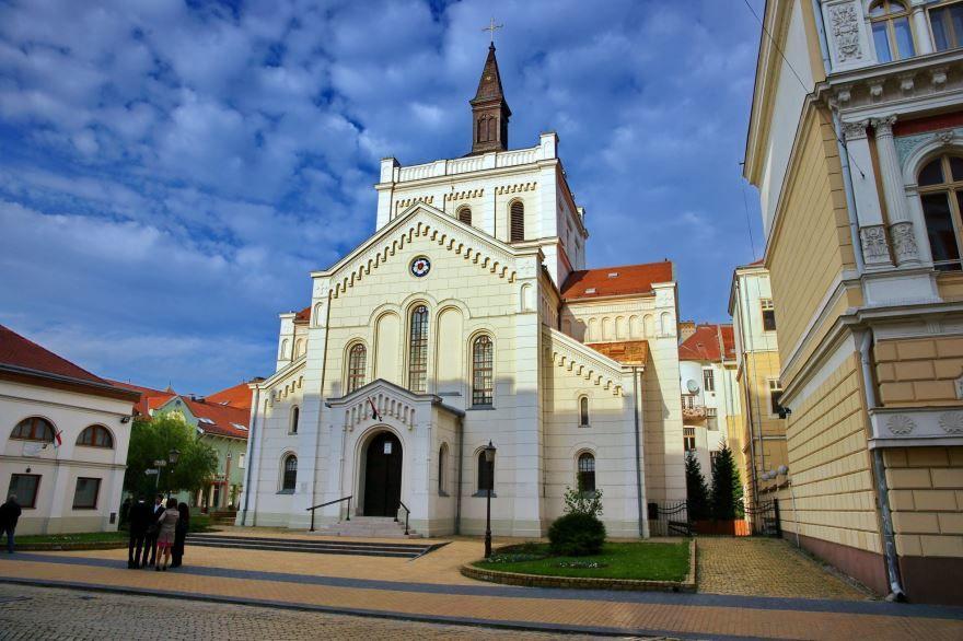 Городская церковь город Кечкемет