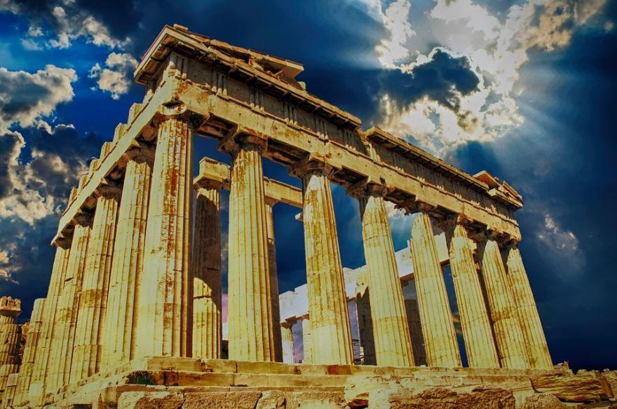 Фото города Афины Греция