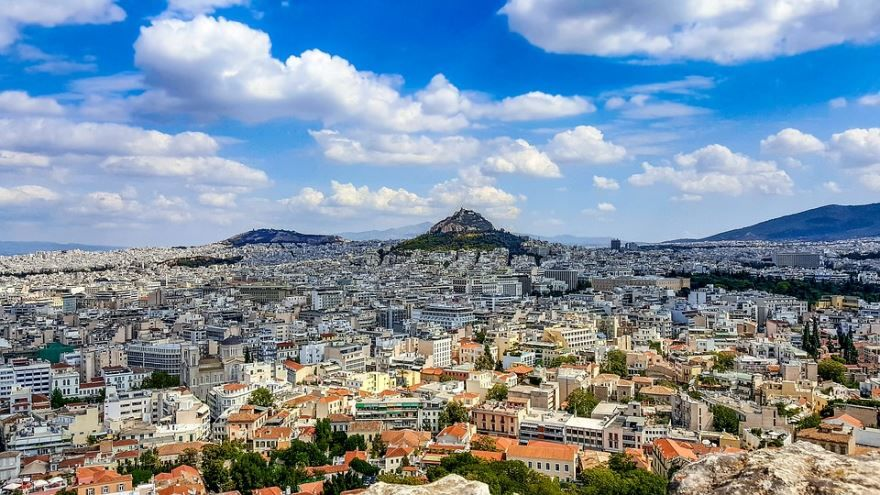 Смотреть красивое фото город Афины Греция