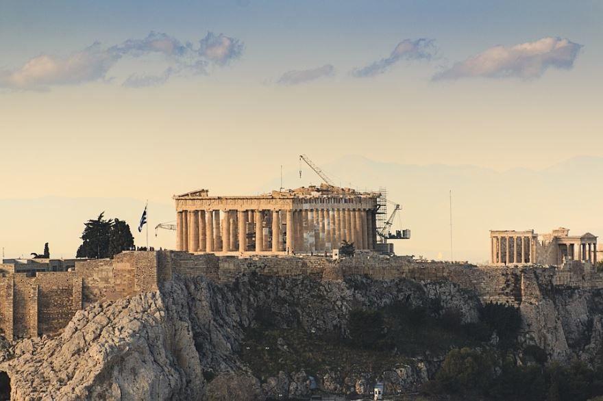Акрополь город Афины