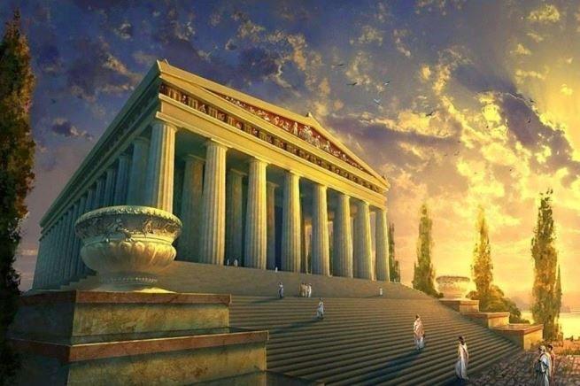 Храмы Древней Греции город Афины