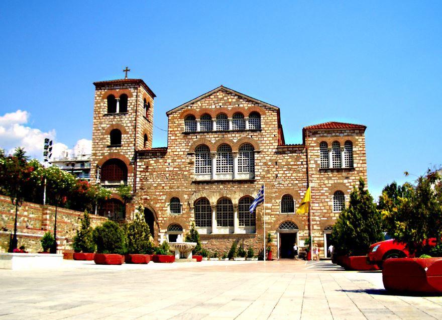 Скачать онлайн бесплатно лучшее фото города Салоники в хорошем качестве
