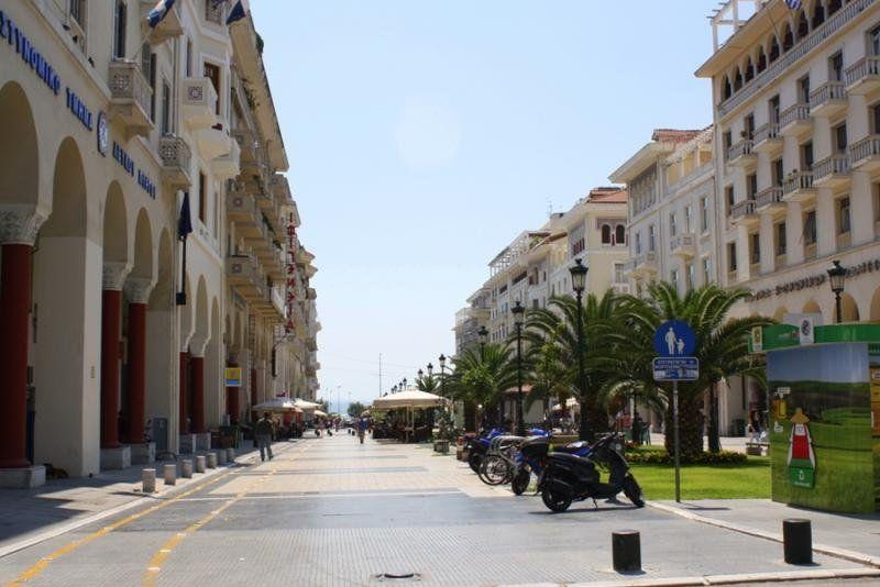 Улица город Салоники