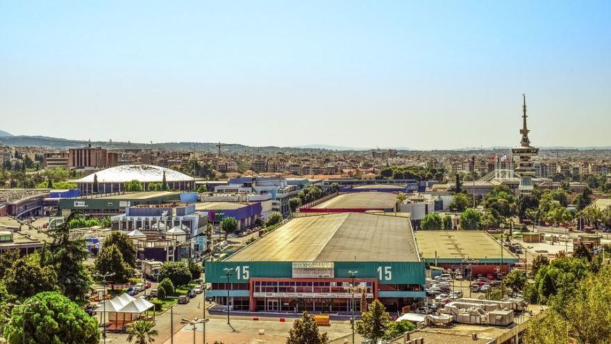 Панорама город Салоники
