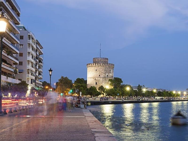 Фото города Салоники Греция