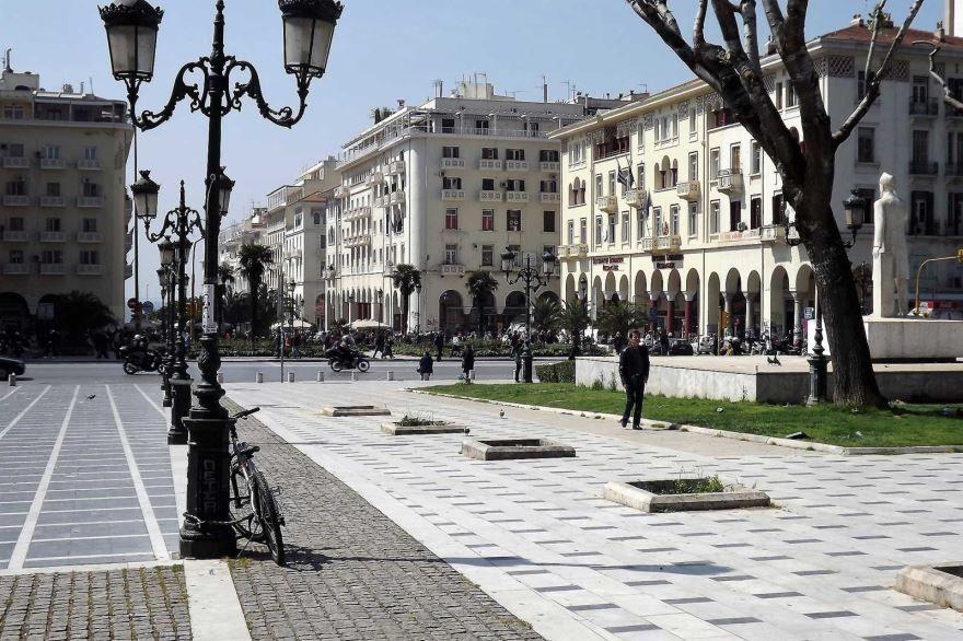 Площадь Аристотеля города Салоники Греция