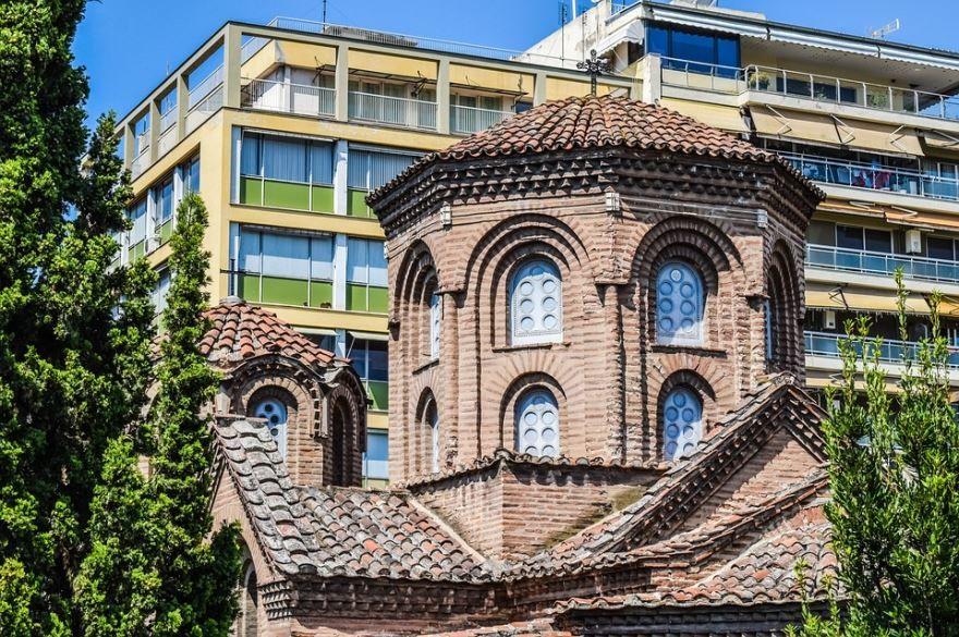 Собор города Салоники Греция
