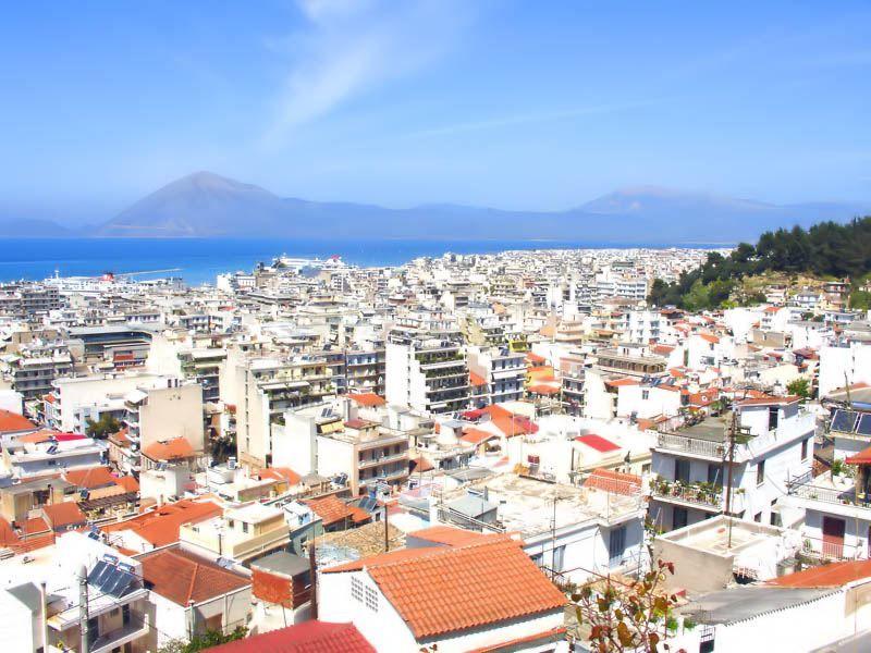 Фото города Патры Греция