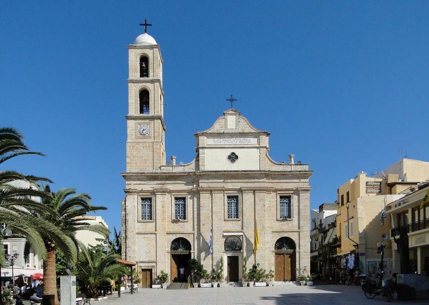 Введенский собор город Ханья Греция
