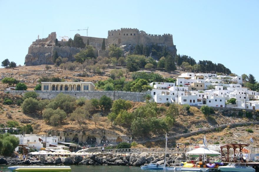 Фото города Родос Греция