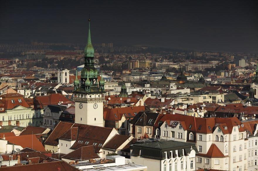 Вид на город Брно