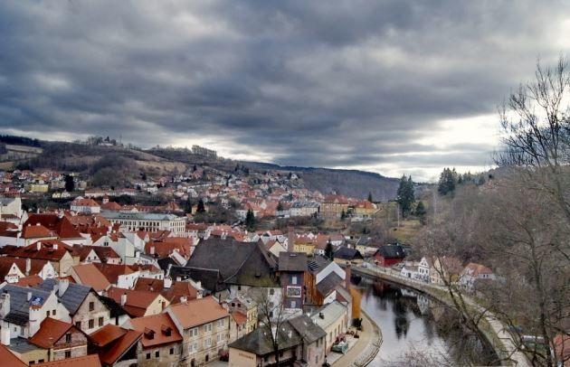Панорама города Брно