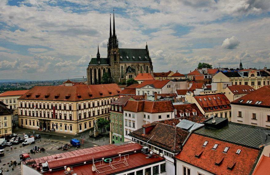 Фото города Брно Чехия