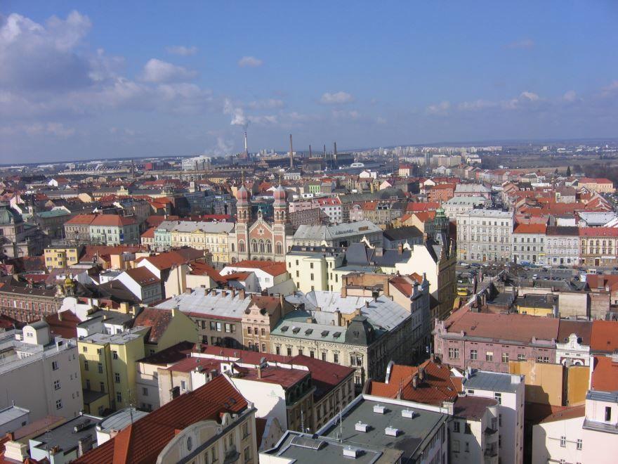 Фото города Пльзень Чехия